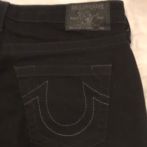 True Religion Jeans - True Religion Black curvy skinny jeans